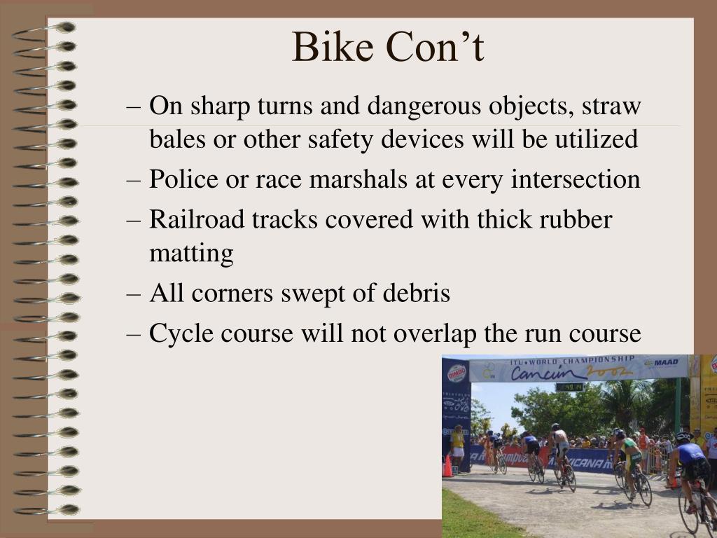 Bike Con't