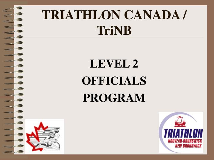 Triathlon canada trinb