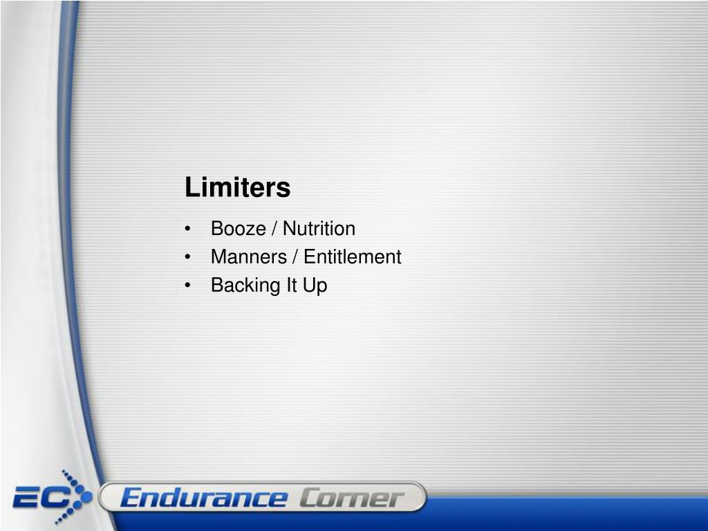 Limiters