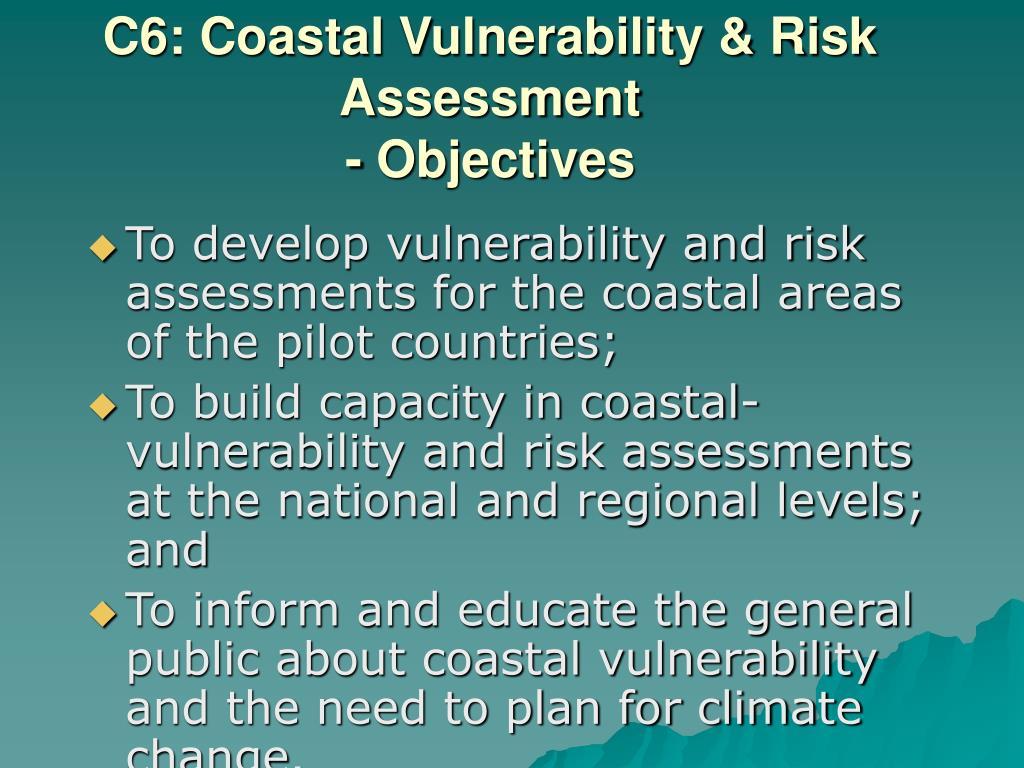 C6: Coastal Vulnerability & Risk Assessment
