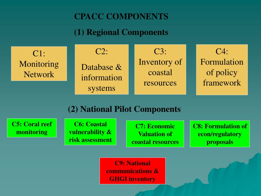 CPACC COMPONENTS