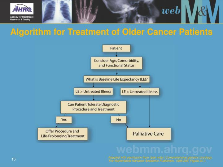 Algorithm for Treatment of Older Cancer Patients