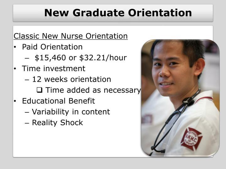 New Graduate Orientation