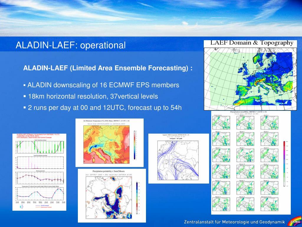 ALADIN-LAEF: operational