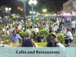 caf s and restaurants