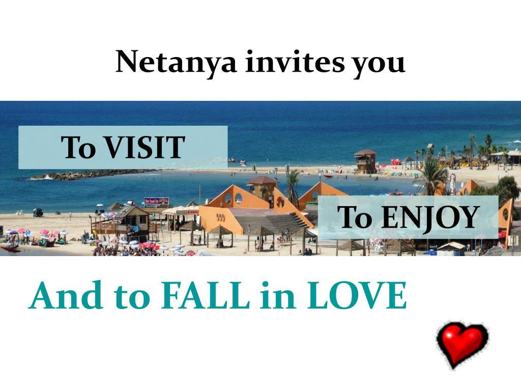 Netanya invites you