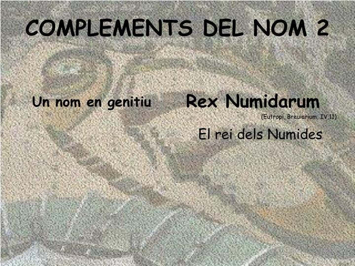Rex Numidarum