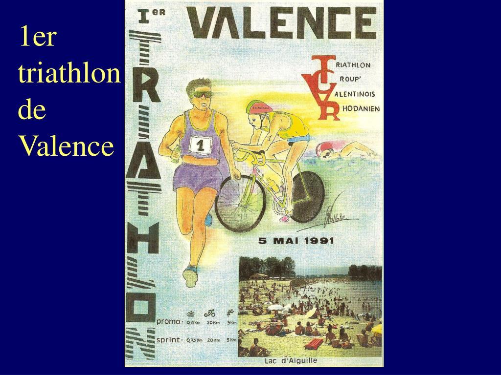 1er triathlon de Valence