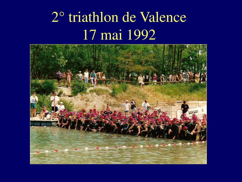 2° triathlon de Valence