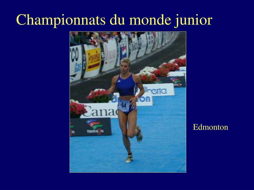 Championnats du monde junior