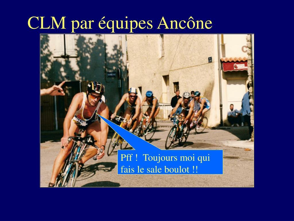 CLM par équipes Ancône