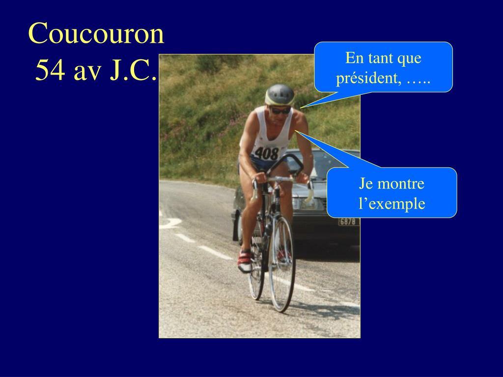 Coucouron 54 av J.C.