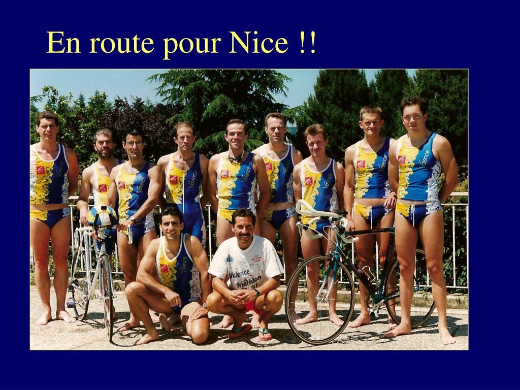 En route pour Nice !!