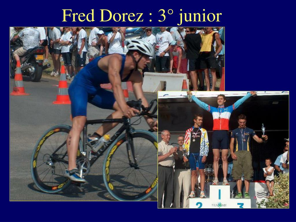 Fred Dorez : 3° junior