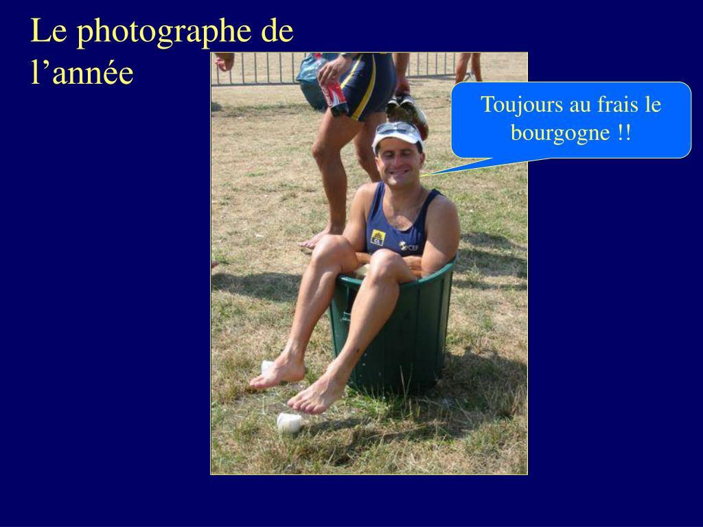 Le photographe de l'année