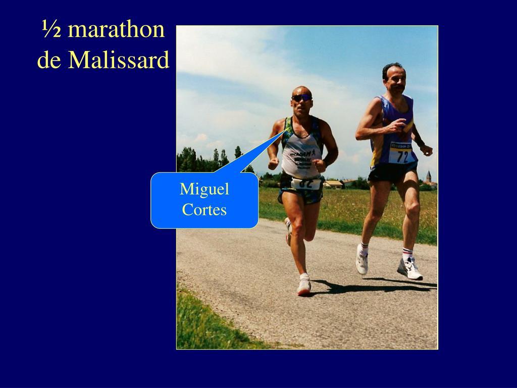 ½ marathon de Malissard