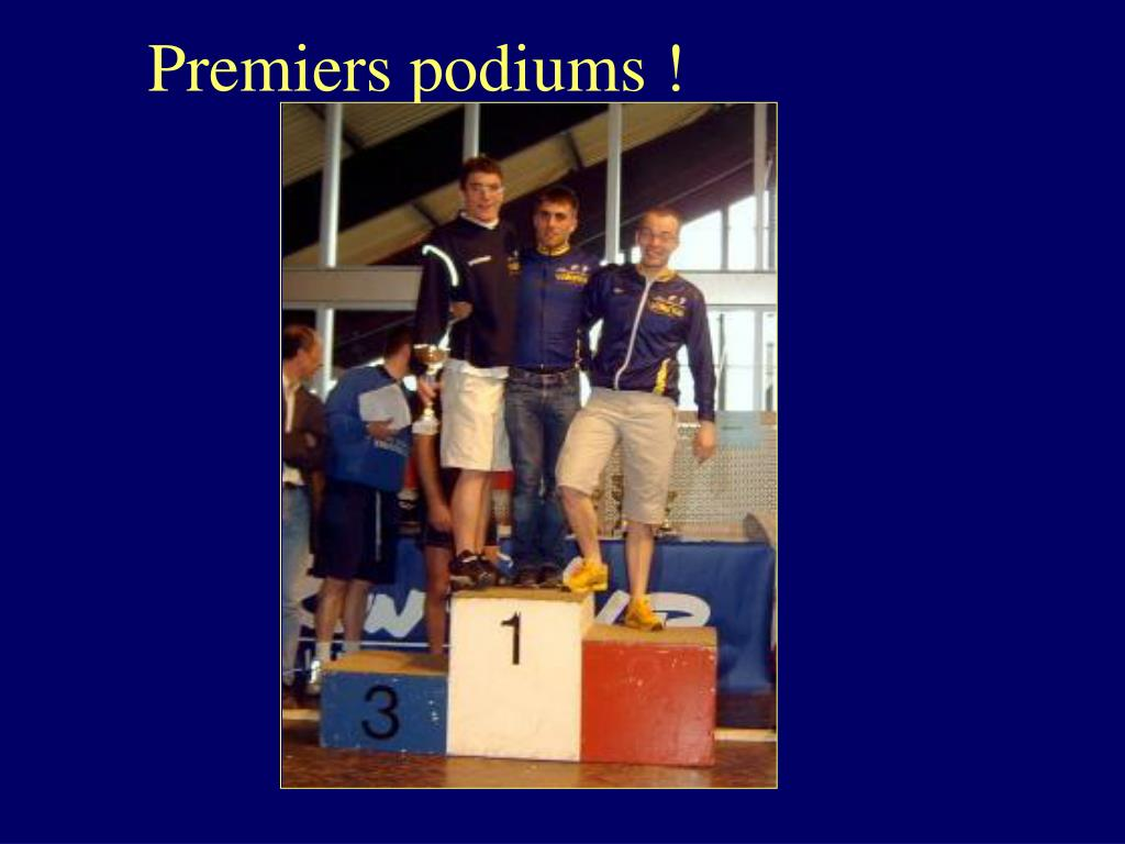 Premiers podiums !