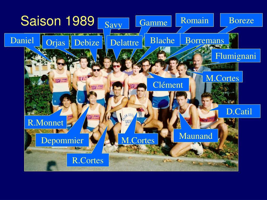 Saison 1989
