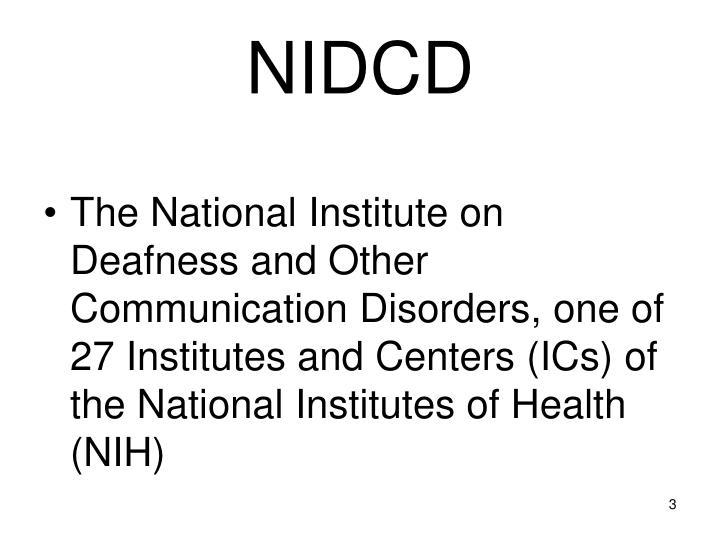 NIDCD