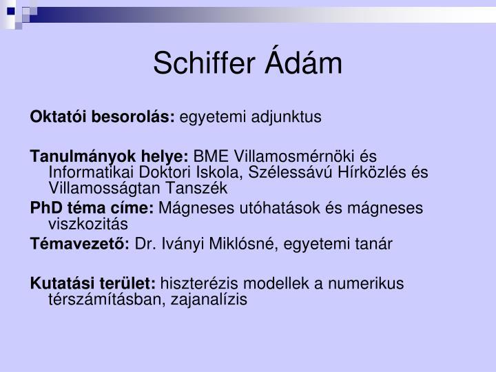 Schiffer Ádám