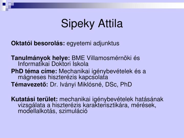 Sipeky Attila