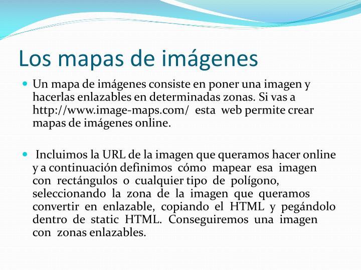 Los mapas de imágenes