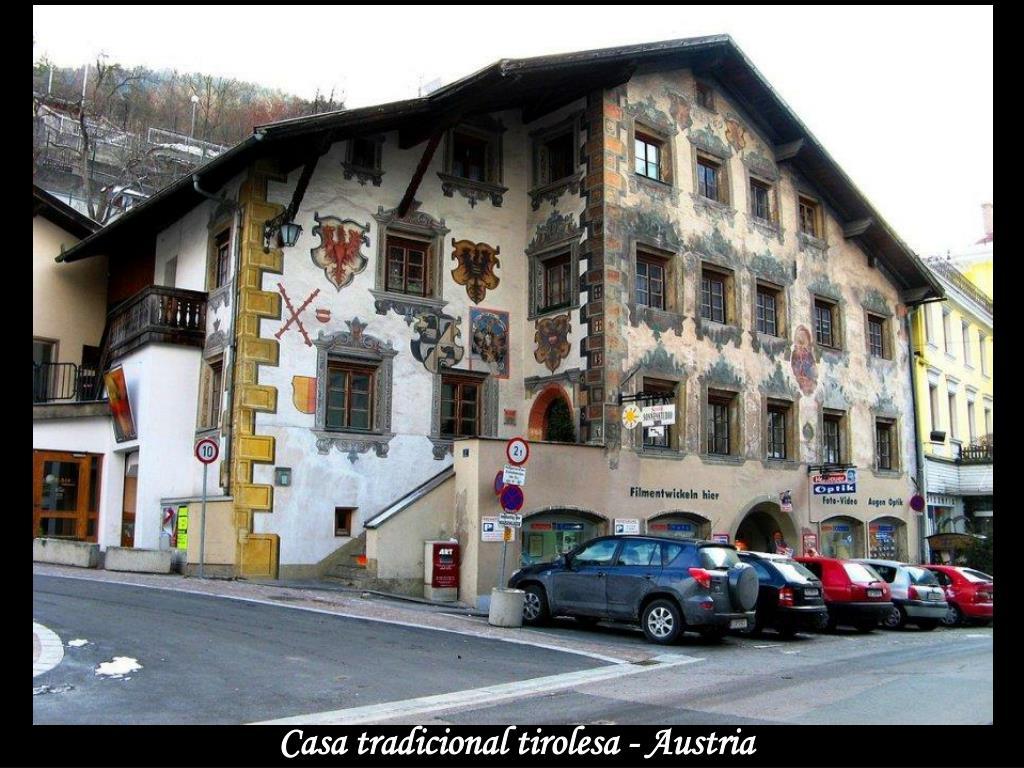 Casa tradicional tirolesa - Austria