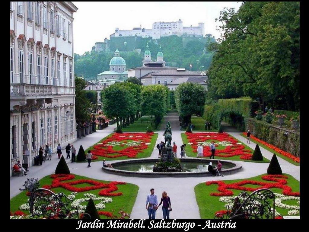 Jardín Mirabell. Saltzburgo - Austria