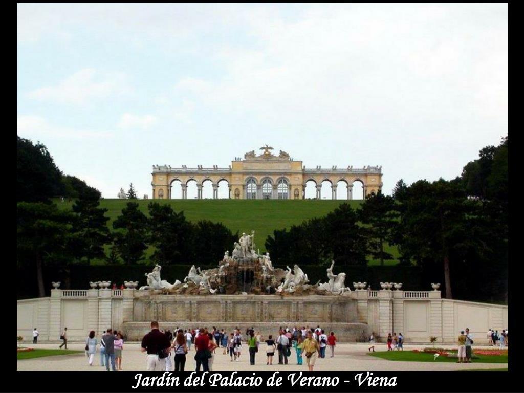 Jardín del Palacio de Verano - Viena