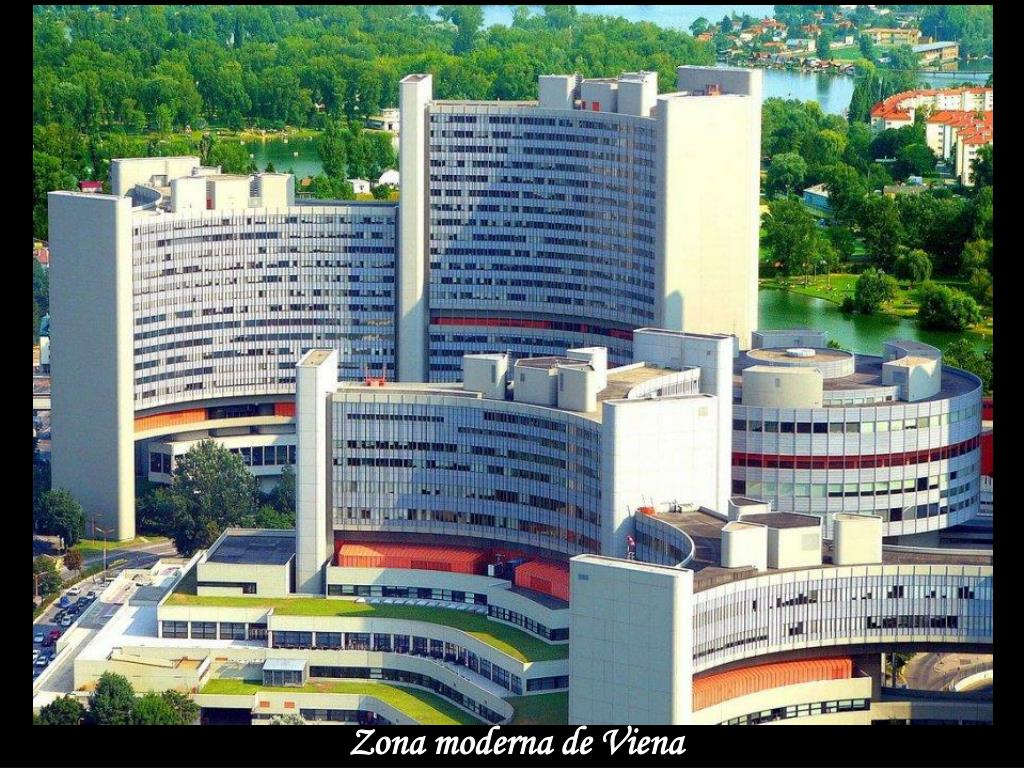Zona moderna de Viena