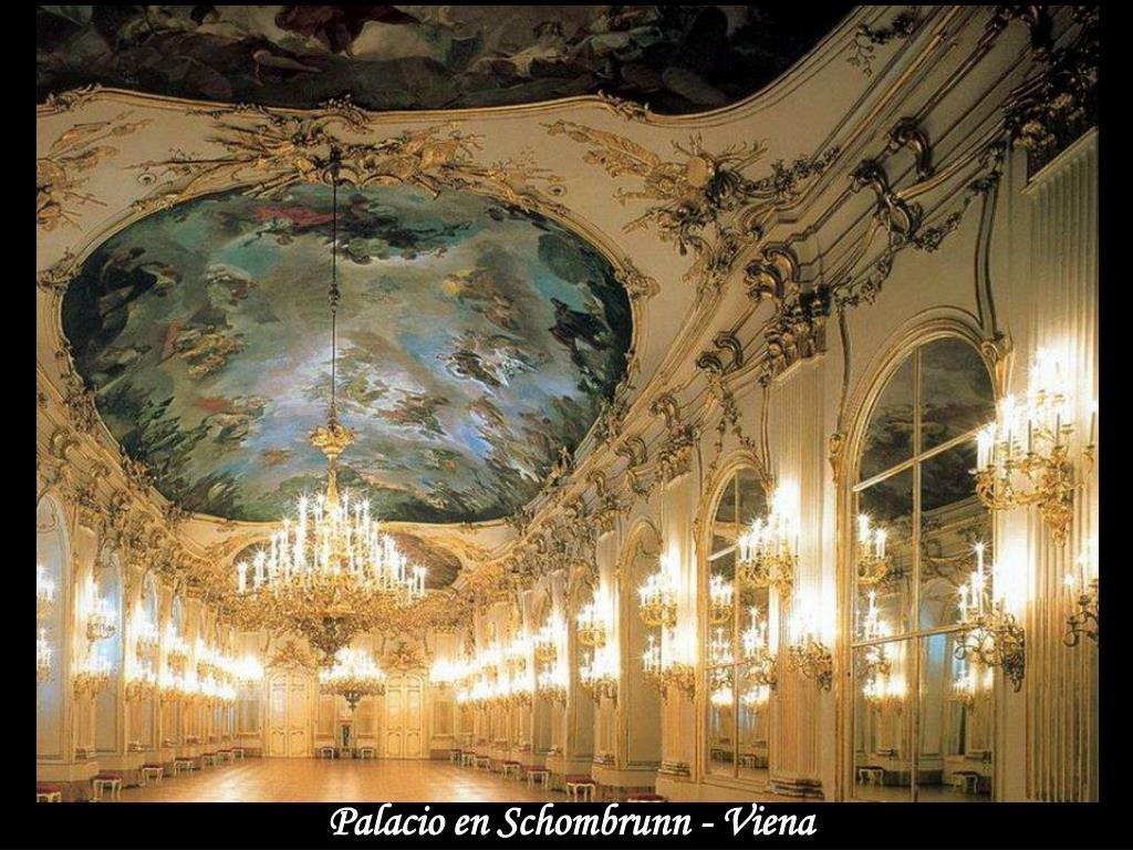 Palacio en Schombrunn - Viena