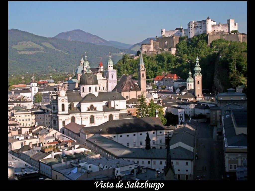 Vista de Saltzburgo
