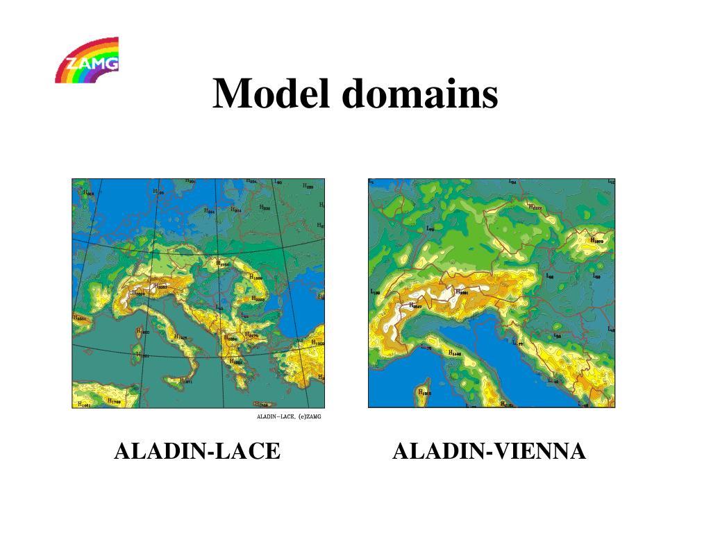 Model domains