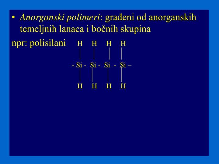 Anorganski polimeri
