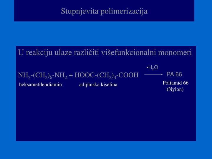 Stupnjevita polimerizacija