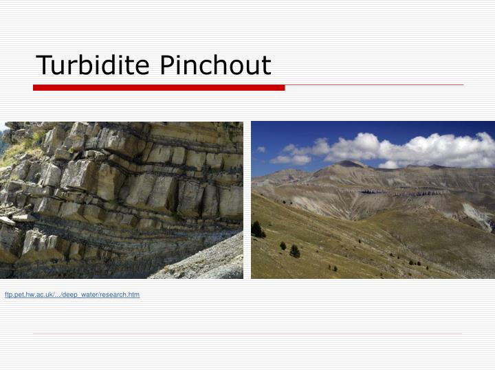 Turbidite Pinchout