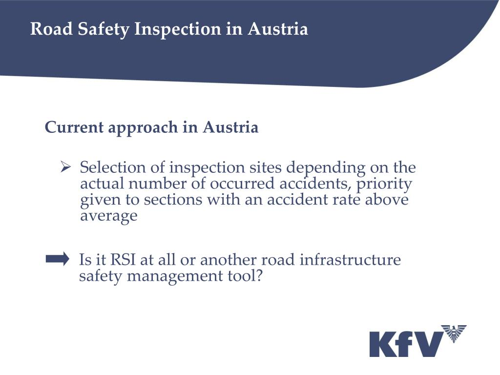 Road Safety Inspection in Austria
