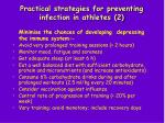 practical strategies for preventing infection in athletes 2