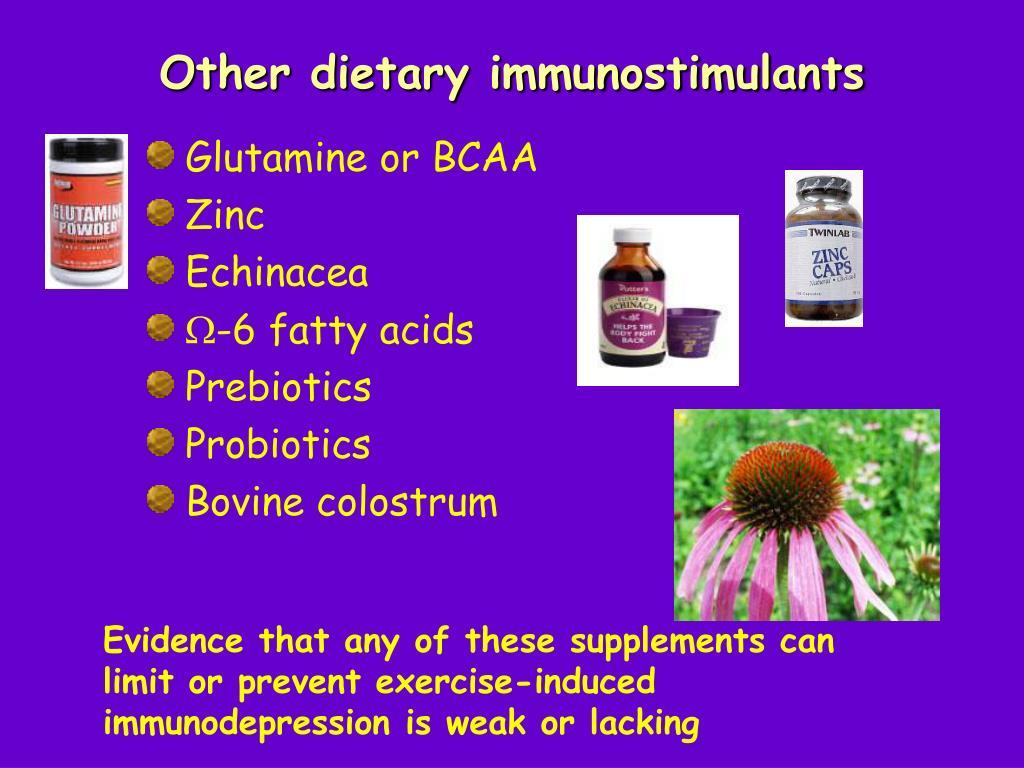 Other dietary immunostimulants