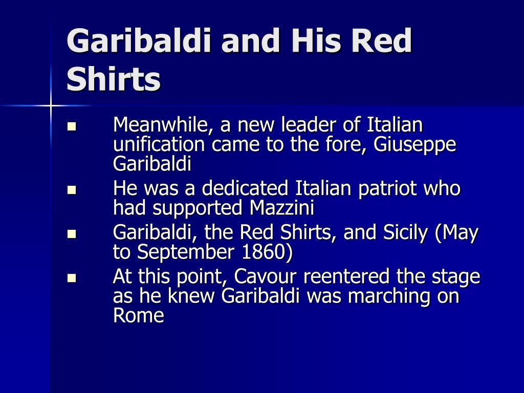 Garibaldi and His Red Shirts