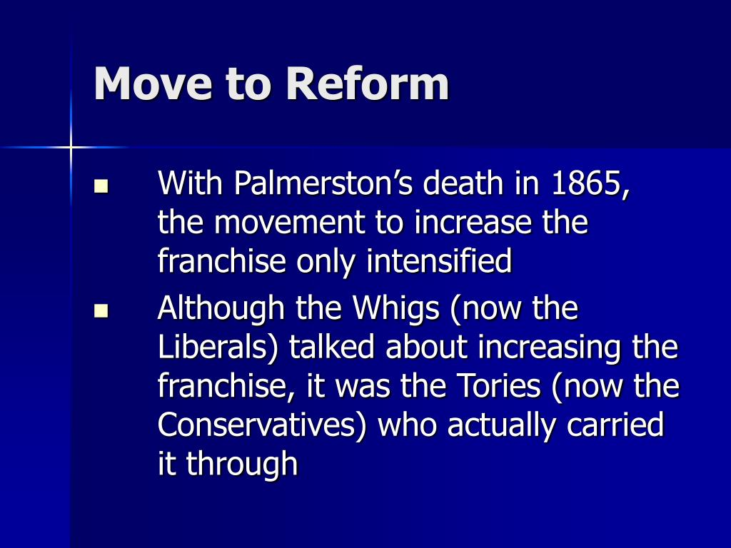 Move to Reform