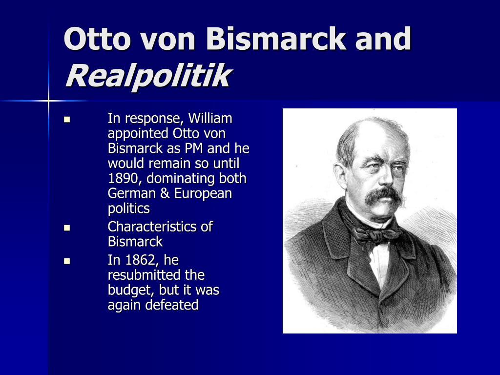 Otto von Bismarck and