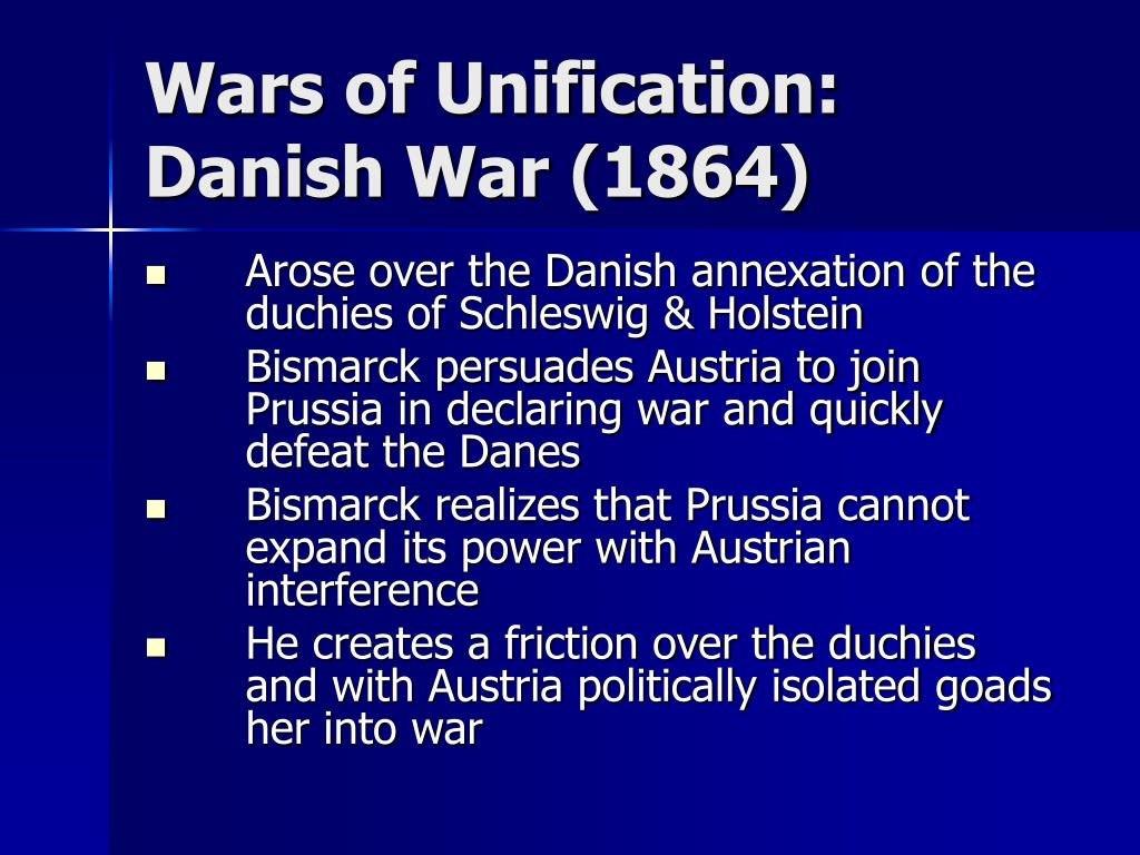 Wars of Unification: