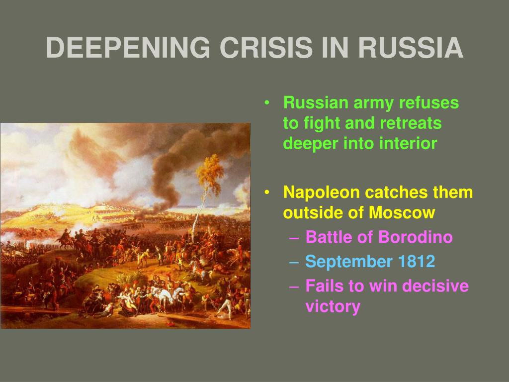 DEEPENING CRISIS IN RUSSIA