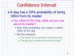 confidence interval1