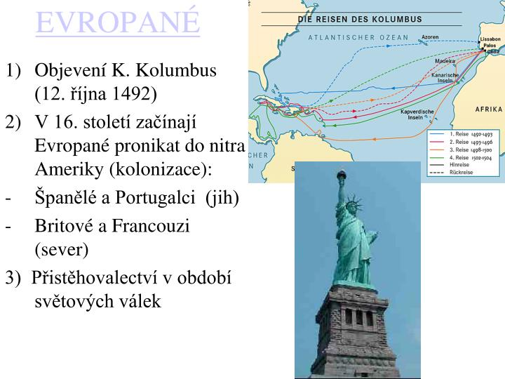 Objevení K. Kolumbus (12. října 1492)