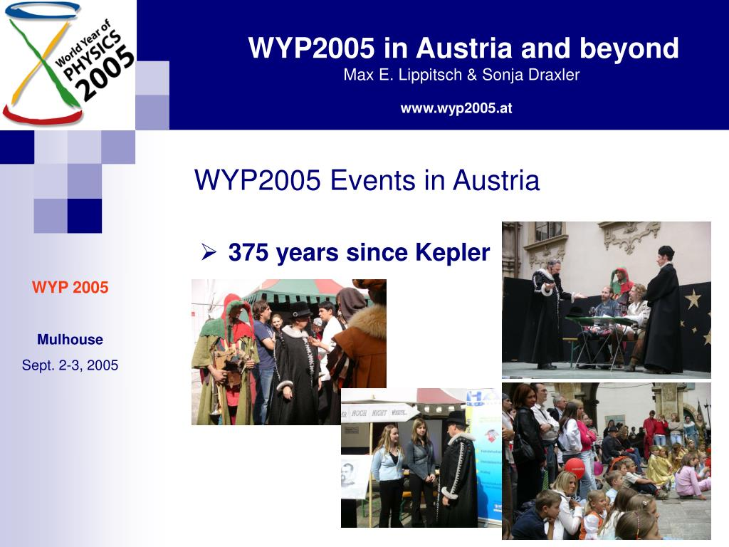WYP2005 Events in Austria