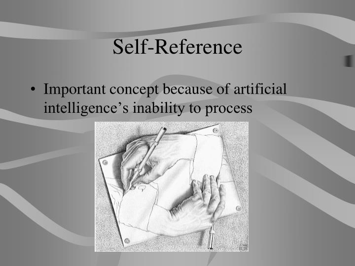 Self-Reference