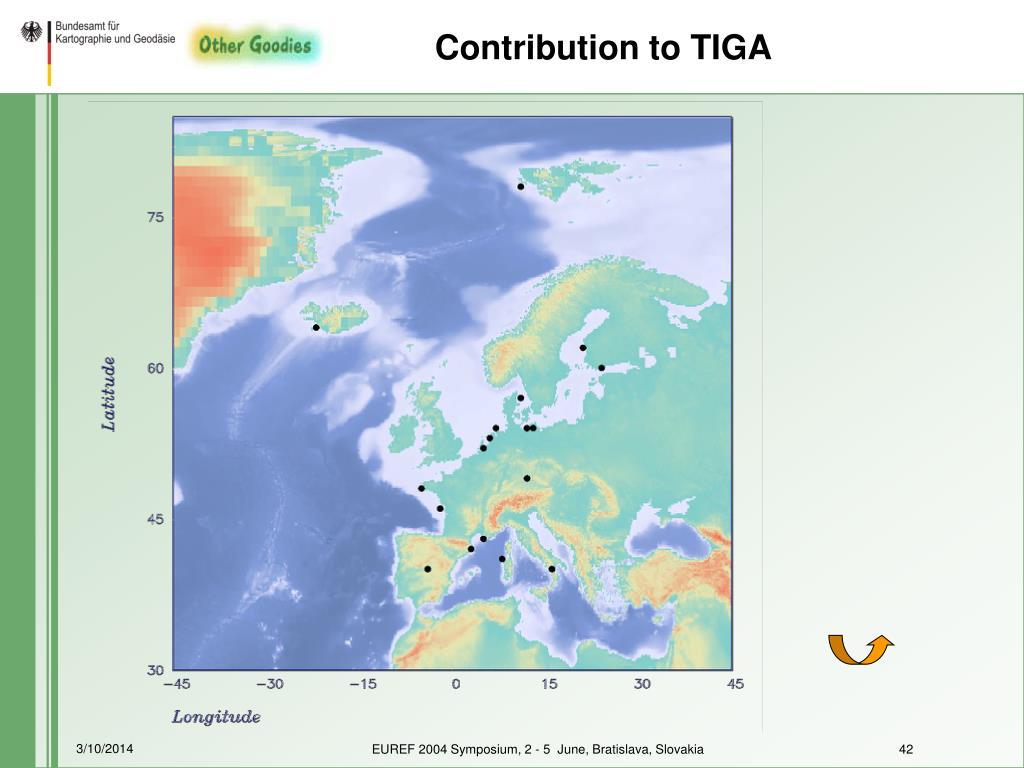 Contribution to TIGA