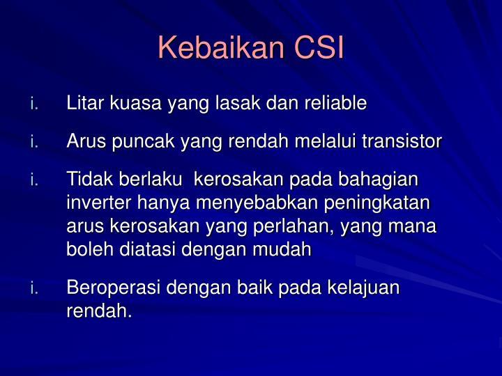 Kebaikan CSI